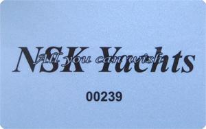 Карта клиента компании NSK-Yachts