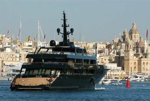 Яхты , спущенные на воду до 2009 года. 5333