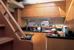 Камбуз (кухня) на яхте Ferretti 690