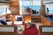 Салона яхты Феретти 690