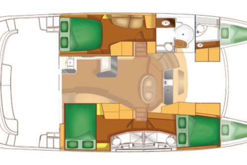 Fountaine Pajot Cuberlad 46 1127
