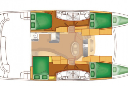 Fountaine Pajot Cuberlad 46 1128