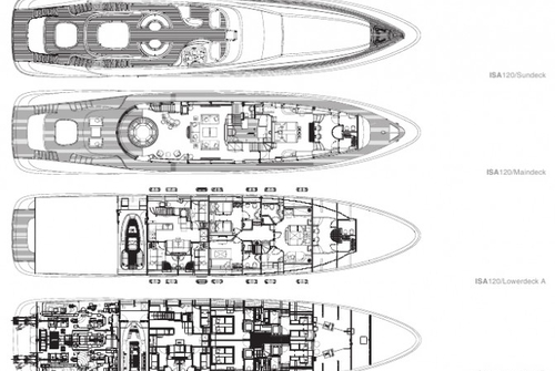 ISA Yachts 120 1170