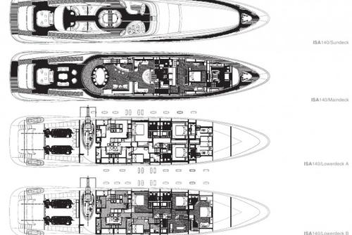 ISA Yachts 140 1171