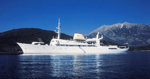 Легендарная  яхта Аристотеля Онассиса
