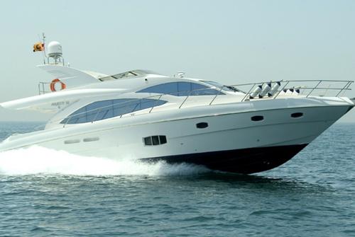 Majesty Yachts 8483