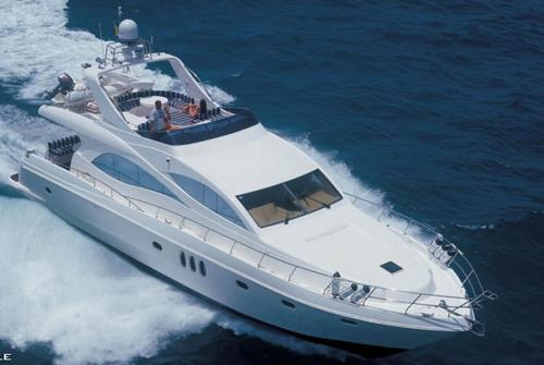 Majesty Yachts 8484