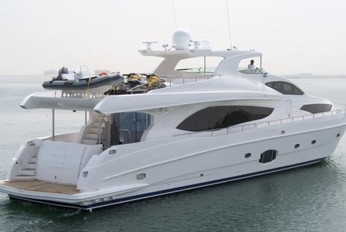 Majesty Yachts 8486