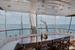 Кокпит, стол на корме яхты MD-27