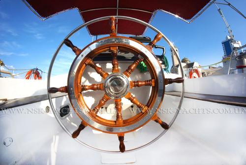 Штурвал яхты Ольга