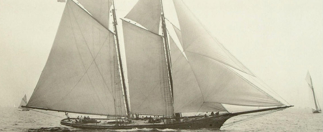 Про историю яхты
