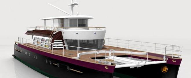 Первая яхта от Kenzo