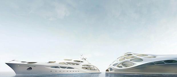 Всемирно известная архитектор Заха Хадид разработала свои первые яхты.