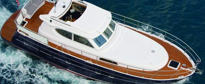 Все о моторных яхтах