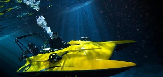 Яхты,которые умеют плавать под водой
